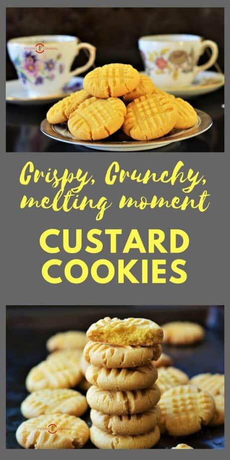 Stalked up Custard Cookies