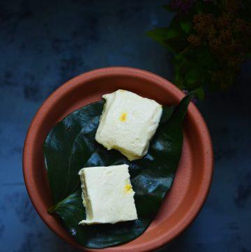 Bhapa Sondesh recipe served