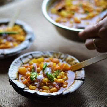 Bengali Ghugni served