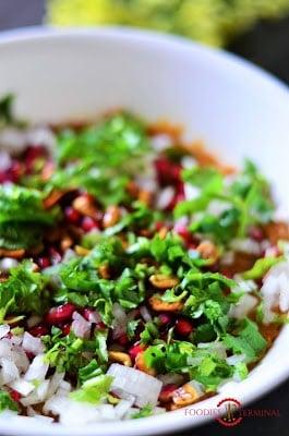 Dabeli masala in a bowl.