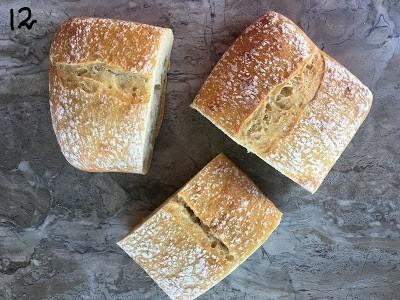 Bread for sandwich.