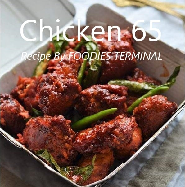 Chicken 65 Recipe in Instant Pot by Foodies Terminal Feature Image