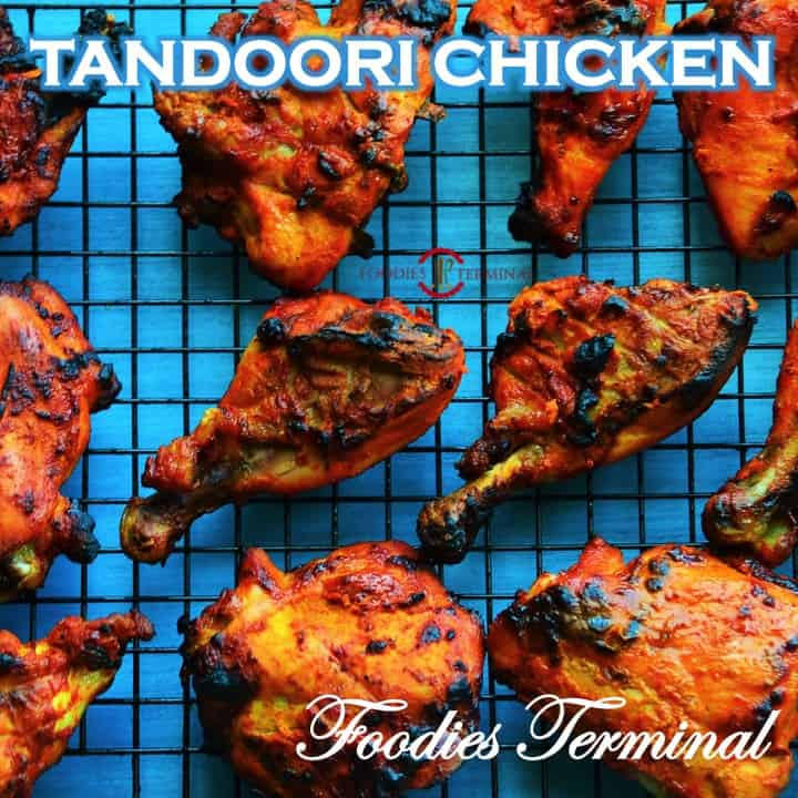 Tandoori Chicken recipe by Foodies Terminal