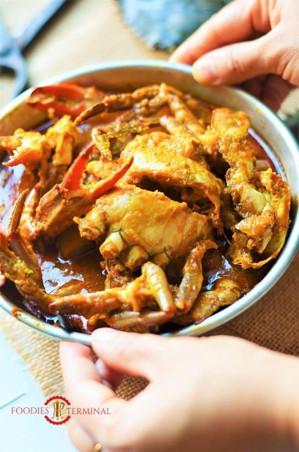 Kakrar Jhal just served hot