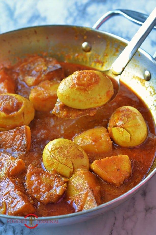 Dimer dalna prepared in a pan