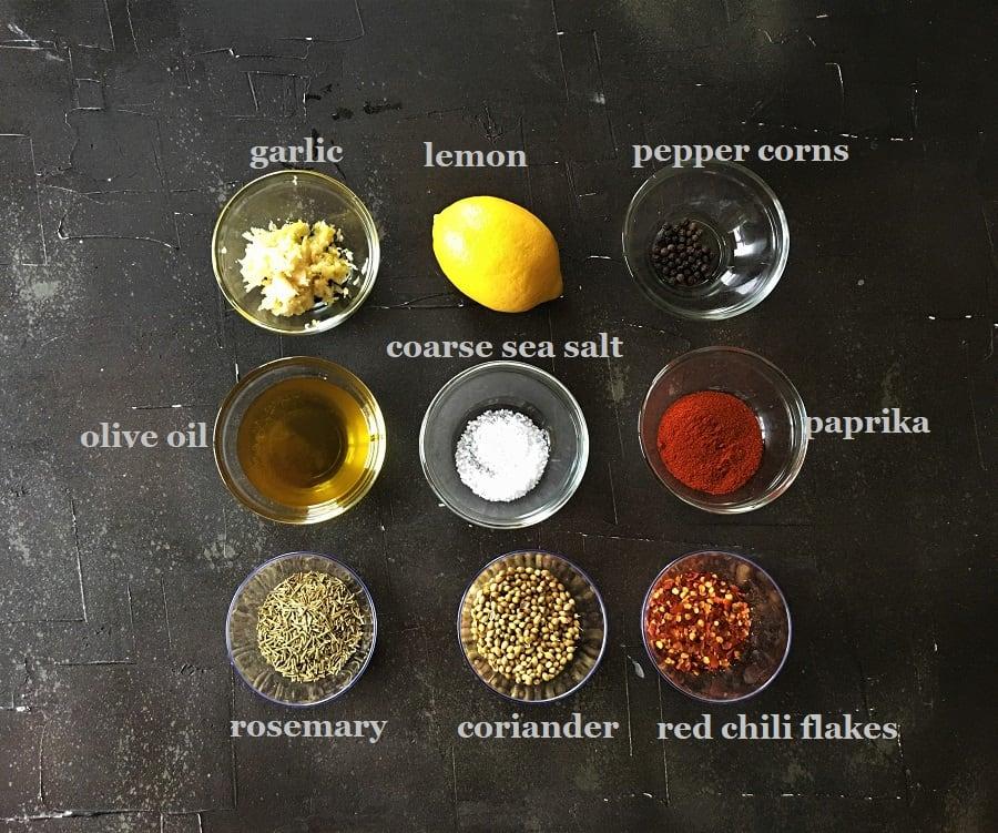 Chicken gyro recipe seasoning