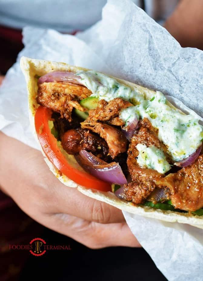 Authentic Greek Chicken Gyros Recipe With Tzatziki Sauce 187 Foodies Terminal
