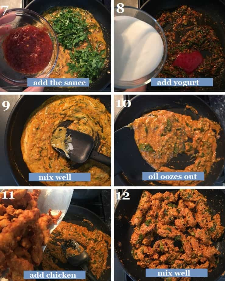 How to make Hyderabad style majestic chicken steps