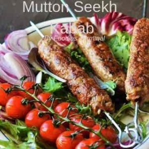 Mutton Seekh Kabab By Foodies Terminal