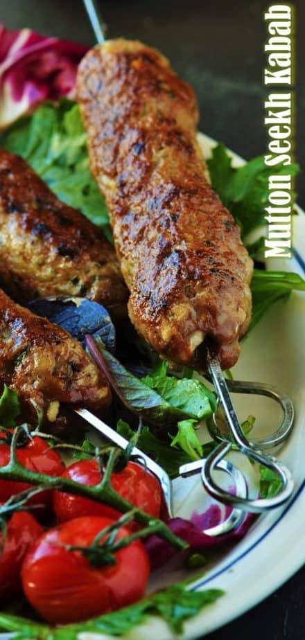 Mutton seekh kabab Pin Image