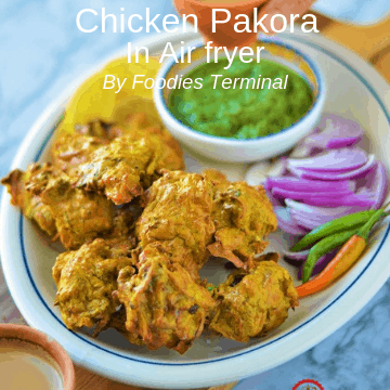 Chicken Pakora Recipe By Foodies Terminal