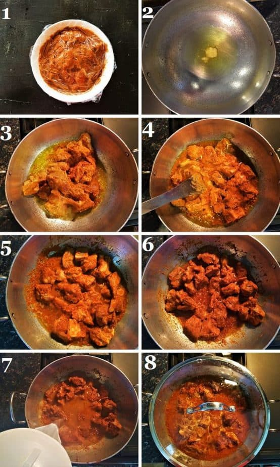How to make the Rajasthani Junglee Maas step by step with pictures