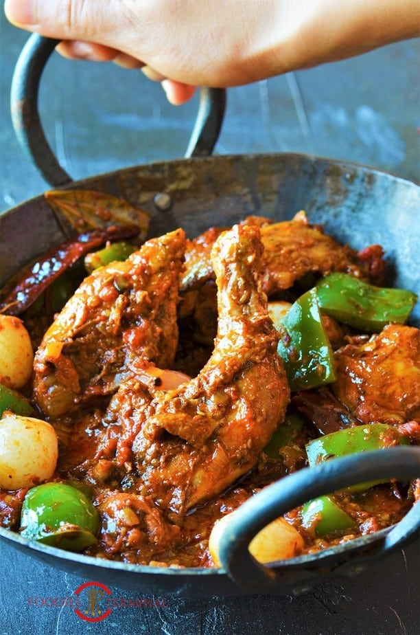 Chicken Karahi dhaba style in a spicy sauce