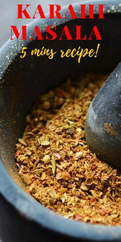 Karahi masala powder recipe