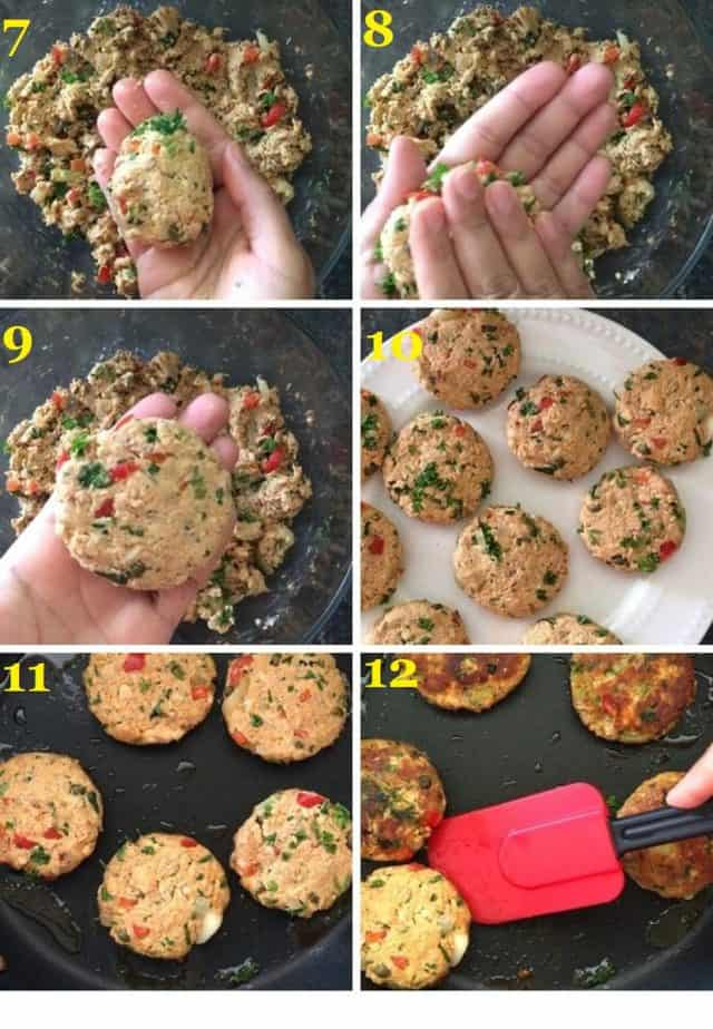 How to make salmon patties using canned salmon recipe steps