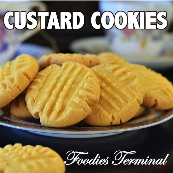 Custard Cookies Link By Foodies Terminal