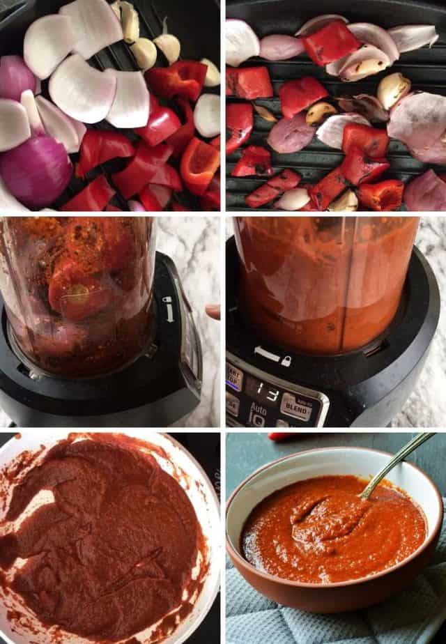 Step by step pictures of Peri peri sauce recipe