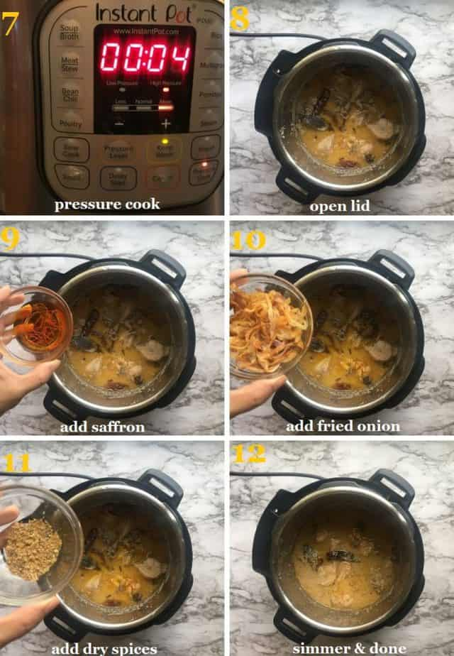 Step by step cooking method pictures