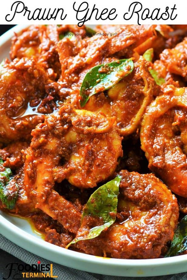 Prawn Ghee Roast Pin Image