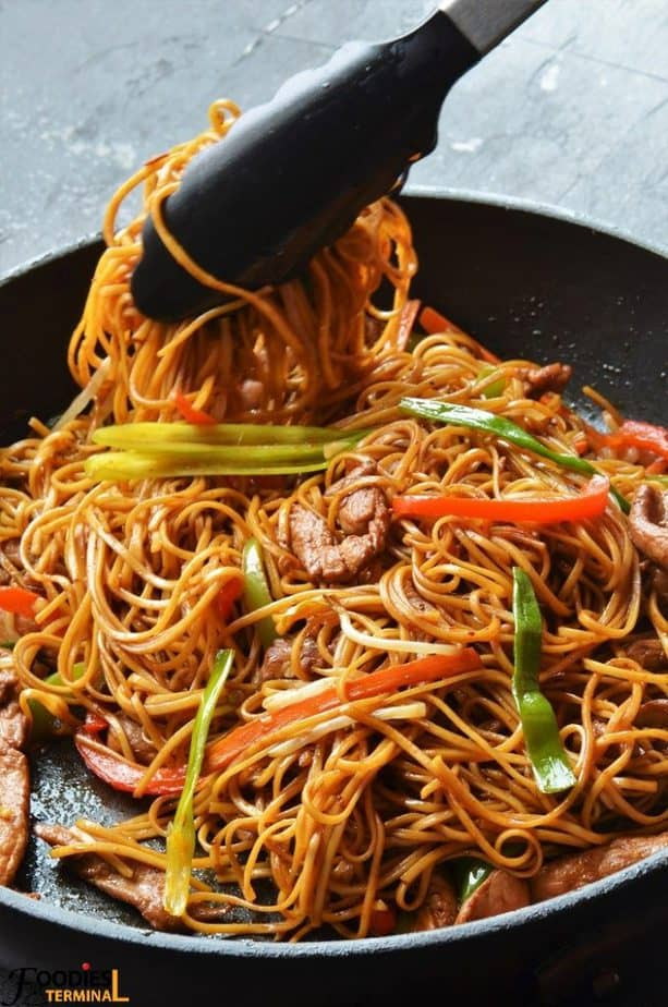 Authentic Chicken Lo Mein Recipe P F Chang S Chicken Lo Mein