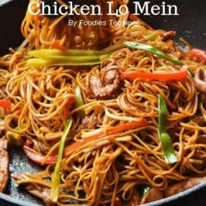 Chicken Lo mein take out style