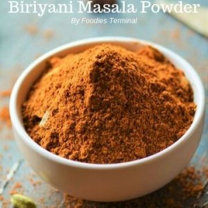 Pakistani Biryani Masala Powder in bowl