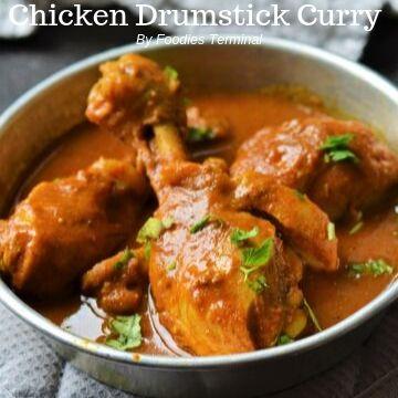 Spicy Chicken Drumsticky Curry recipe
