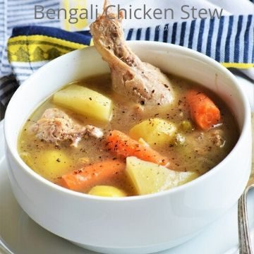 Healthy Bengali Chicken Stew