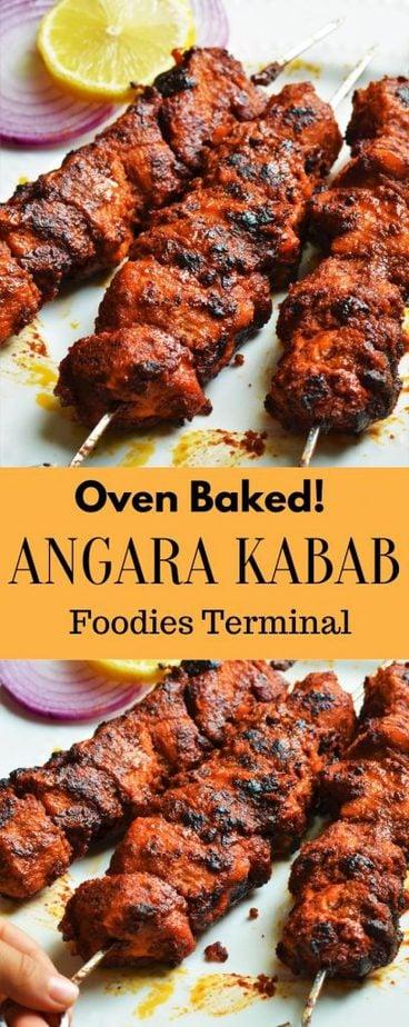 Oven baked angara kabab