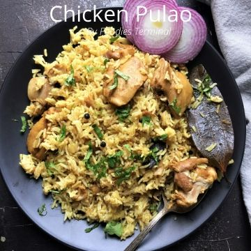 Chicken Pulao Instant Pot