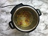 Onion Fired in the instant pot