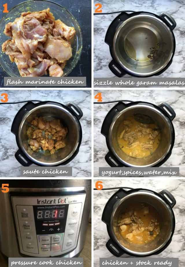 Indian Chicken Pulao recipe steps with pics