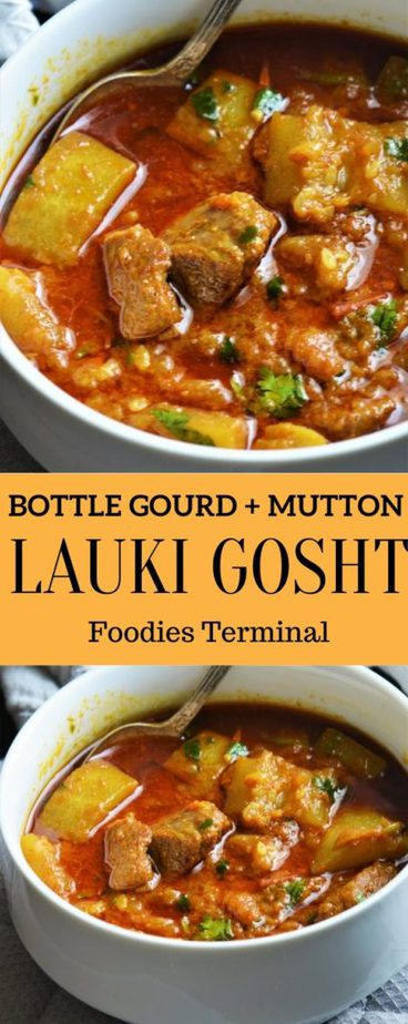Instant Pot Lauki Gosht Recipe