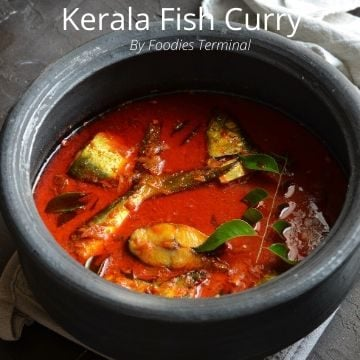 Spicy kerala fish curry recipe