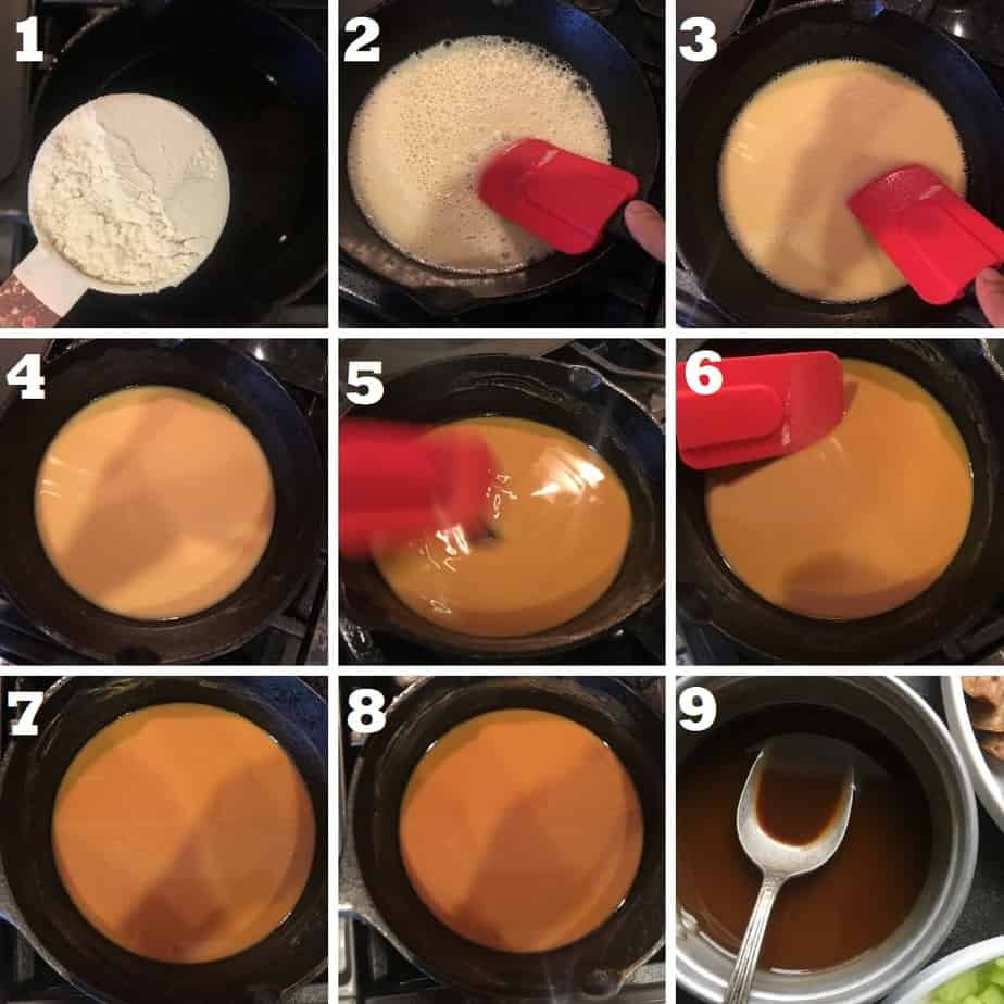 how to make gumbo roux step by step with pics