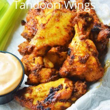 Tandoori Chicken Wings made in instant pot