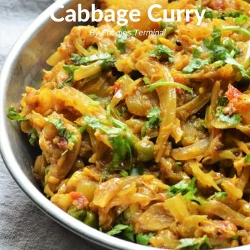 Indian Cabbage Curry