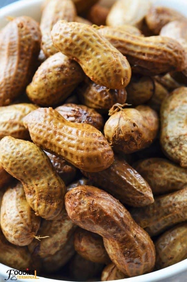 instant pot cajun boiled peanuts
