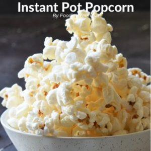 Popcorn in instant pot