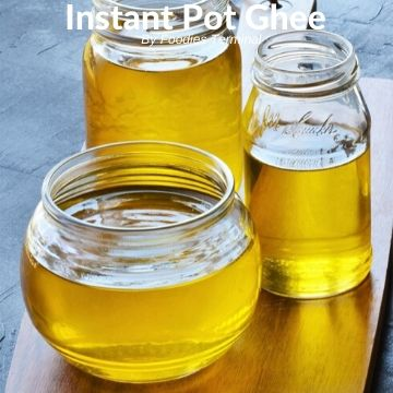 how to make ghee in instant pot