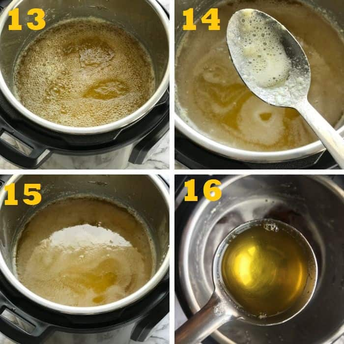 how to make instant pot ghee from unsalted butter step by step