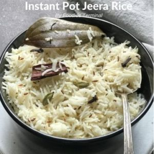 Instant Pot Jeera rice
