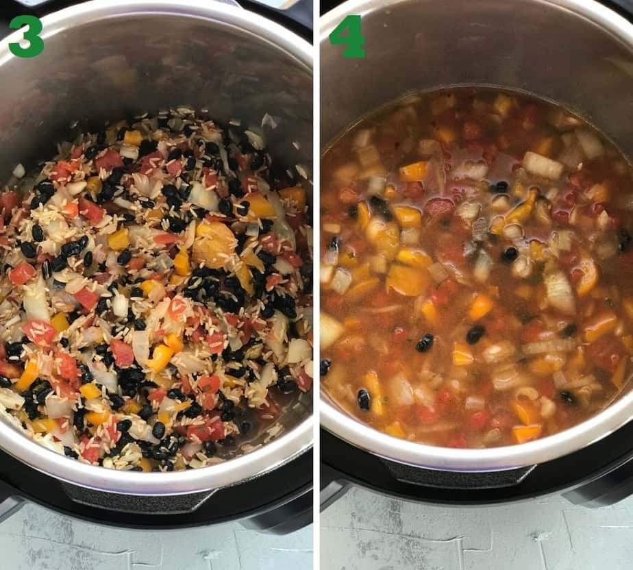 Pressure cooking black beans and rice instant pot