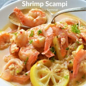 Instant Pot Shrimp Scampi recipe