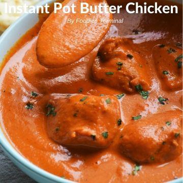 Easy Instant Pot Butter Chicken