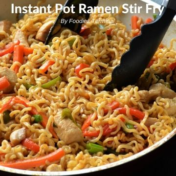 easy ramen stir fry in instant pot