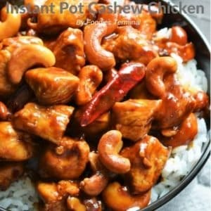 Instant Pot Cashew Chicken restaurant style