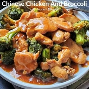 Take-out style healthy Chinese chicken and broccoli