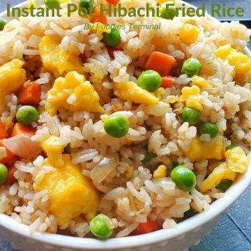 Hibachi Fried Rice restaurant style