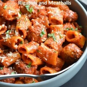 Instant pot rigatoni and frozen meatballs